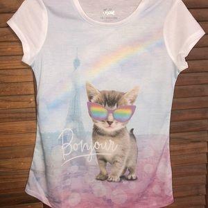 Justice Bonjour Cat top